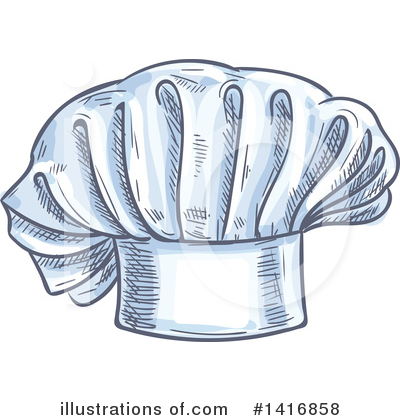 Chef Hat Clipart #1416858 by Vector Tradition SM