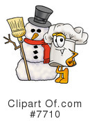 Chef Hat Clipart #7710 by Toons4Biz