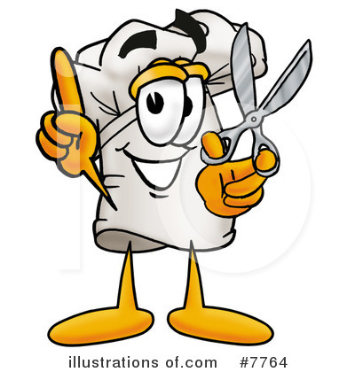 Chef Hat Clipart #7764 by Toons4Biz