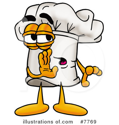 Chef Hat Clipart #7769 by Toons4Biz