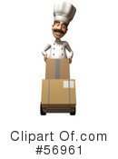 Chef Henry Character Clipart #56961