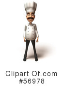 Chef Henry Character Clipart #56978