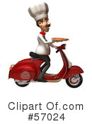 Chef Henry Character Clipart #57024