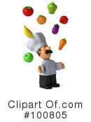 Chef Man Clipart #100805 by Julos
