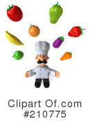 Chef Man Clipart #210775 by Julos