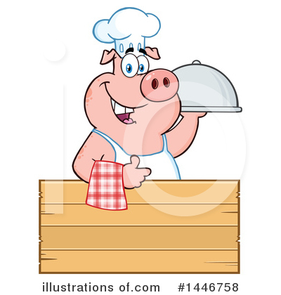 Pig Clipart #1446758 by Hit Toon