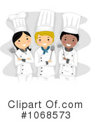 Royalty-Free (RF) Chefs Clipart Illustration #1068573