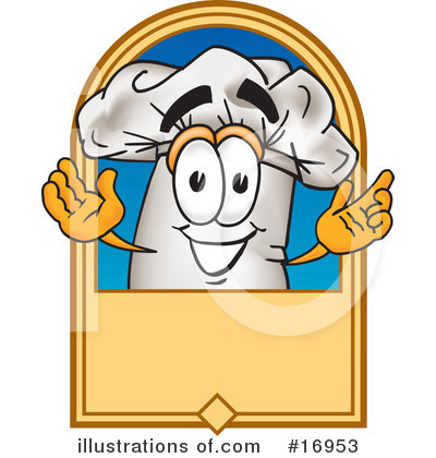 Chef Hat Clipart #16953 by Toons4Biz