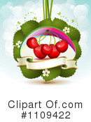 Royalty-Free (RF) Cherries Clipart Illustration #1109422
