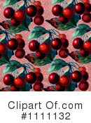 Royalty-Free (RF) Cherries Clipart Illustration #1111132