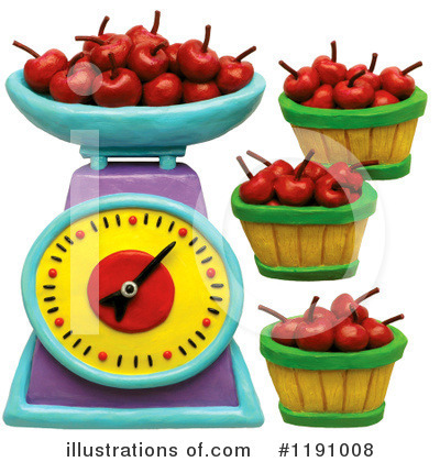 Cherry Clipart #1191008 by Amy Vangsgard