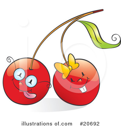Cherry Clipart #20692 by Alexia Lougiaki