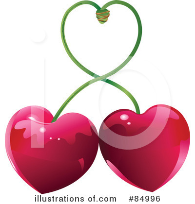 Cherry Clipart #84996 by Pushkin