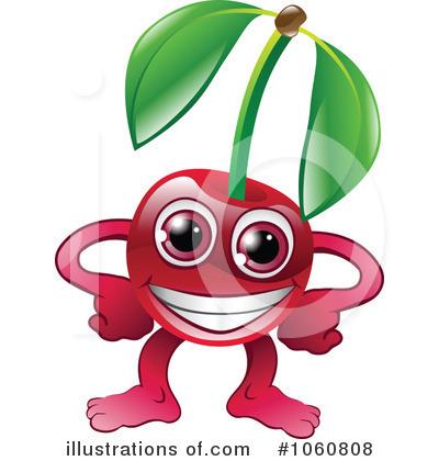 Cherry Clipart #1060808 - Illustration by AtStockIllustration
