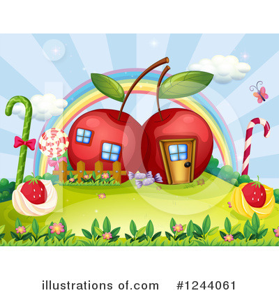 Cherry Clipart #1244061 by Graphics RF