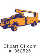 Cherry Picker Clipart #1362526