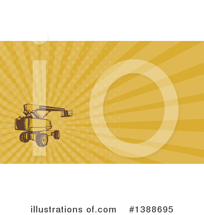 Heavy Machinery Clipart #1388695 by patrimonio