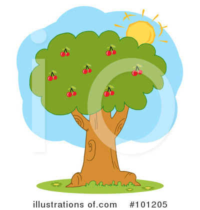 Tree Clipart 1059067 Illustration By Hit Toon