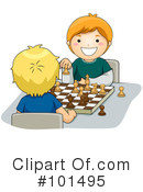 Royalty-Free (RF) chess Clipart Illustration #101495