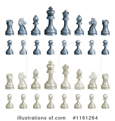 Chess Clipart #1161264 by AtStockIllustration