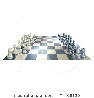 Chess Clipart #1169126 by AtStockIllustration