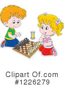 Chess Clipart #1226279 by Alex Bannykh