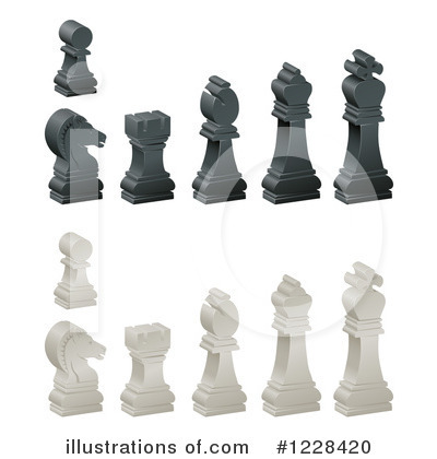 Chess Clipart #1228420 by AtStockIllustration