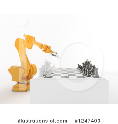 Royalty-Free (RF) Chess Clipart Illustration by Mopic - Stock Sample #1247400