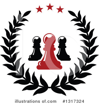 Chess Clipart #1317324 by Vector Tradition SM