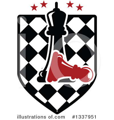 Chess Clipart #1337951 by Vector Tradition SM