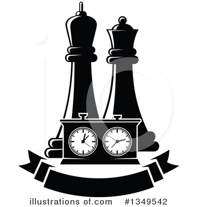 Chess Clipart #1349542 by Vector Tradition SM