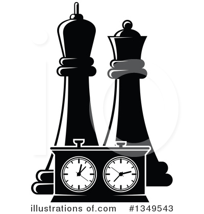 Chess Clipart #1349543 by Vector Tradition SM