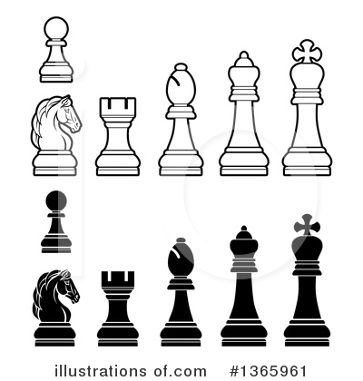 Chess Clipart #1365961 by AtStockIllustration