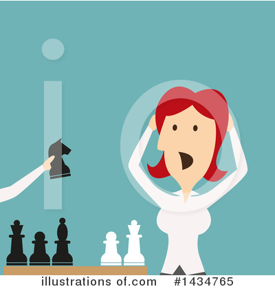 Chess Clipart #1434765 by Vector Tradition SM