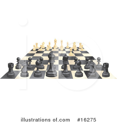 Chess Clipart #16275 by AtStockIllustration