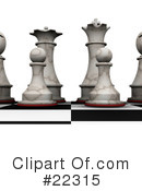 Royalty-Free (RF) chess Clipart Illustration #22315