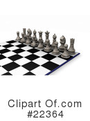 Royalty-Free (RF) chess Clipart Illustration #22364