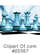 Royalty-Free (RF) chess Clipart Illustration #22367