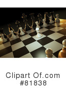 Royalty-Free (RF) Chess Clipart Illustration #81838