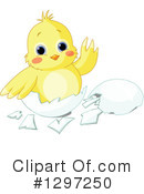 Royalty-Free (RF) Chick Clipart Illustration #1297250