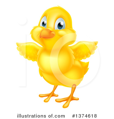 Chick Clipart #1374618 by AtStockIllustration