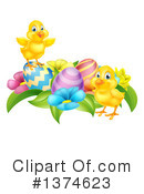 Royalty-Free (RF) Chick Clipart Illustration #1374623