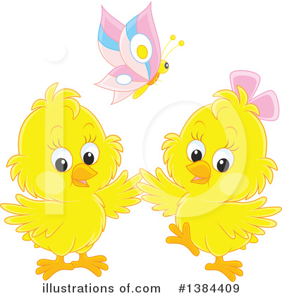 Chick Clipart #1384409 by Alex Bannykh