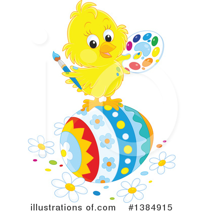 Chick Clipart #1384915 by Alex Bannykh
