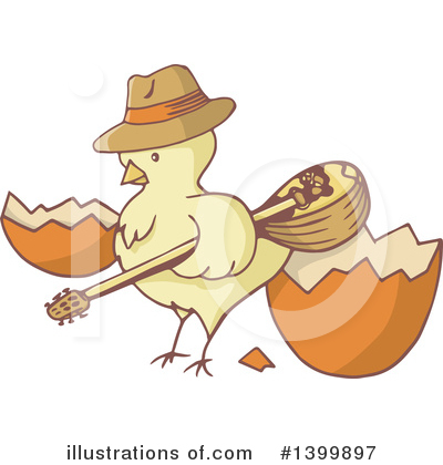 Royalty-Free (RF) Chick Clipart Illustration by Any Vector - Stock Sample #1399897