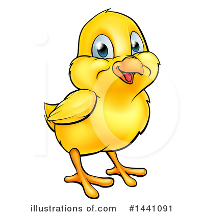Chick Clipart #1441091 by AtStockIllustration