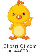 Royalty-Free (RF) Chick Clipart Illustration #1448931