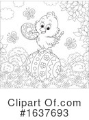 Chick Clipart #1637693 by Alex Bannykh