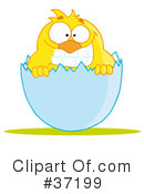 Royalty-Free (RF) Chick Clipart Illustration #37199