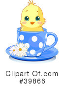 Royalty-Free (RF) Chick Clipart Illustration #39866